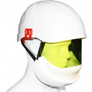 ELECTRICALLY INSULATED SAFETY HELMET (SECRA) WITH INTEGRATED ARC FLASH FACE SHIELD – Class 2, 24.0 CAL/CM²