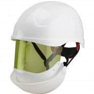 ELECTRICALLY INSULATED SAFETY HELMET (SECRA) WITH INTEGRATED ARC FLASH FACE SHIELD – Class 2, 8.0 CAL/CM²