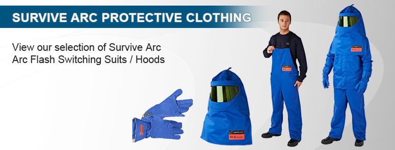 Survive Arc Personal Protective Clothing and Personal Protective Equipment