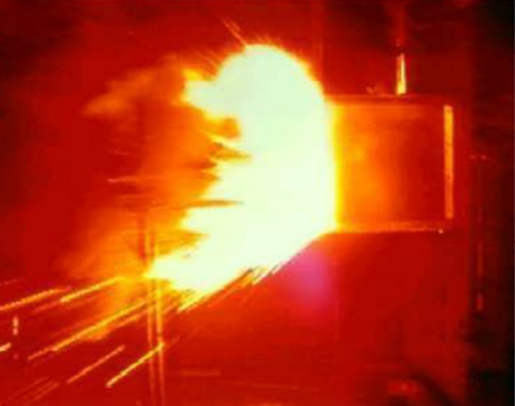 Confined Arc Flash
