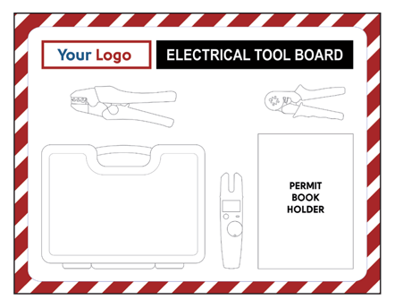 Customised Electrical Shadowboard