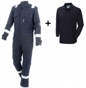 6100 Arc Coverall + 5200 Polo Shirt = ARC 3, Class 2
