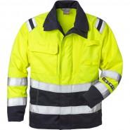 FRISTADS Jacket 4175 ATHS Hi-Vis Yellow/Navy &#8211; Class 1, 10.5 cal/cm<sup>2</sup>