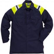 FRISTADS Shirt 7074 ATS Dark Navy &#8211; Class 1, 9.9 cal/cm<sup>2</sup>