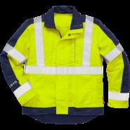 FRISTADS Flame Hi-vis jacket cl 3 4846 Yellow/Navy – Class 1